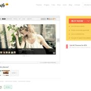 Themify: Slide WordPress Theme