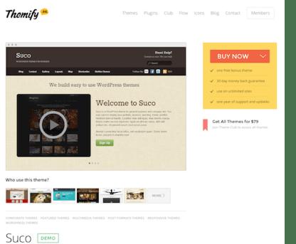 Themify: Suco WordPress Theme