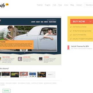 Themify: Tisa WordPress Theme
