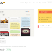 Themify: Wumblr WordPress Theme
