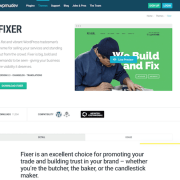 WPMU DEV: Fixer WordPress Theme