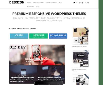 Dessign: BizDev Responsive