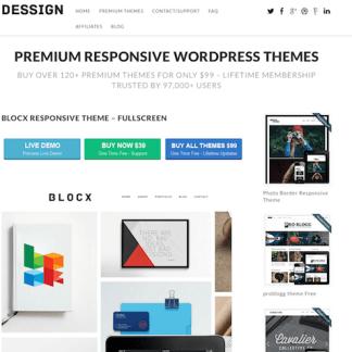 Dessign: Blocx Responsive