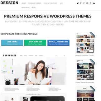 Dessign: Corporate Responsive