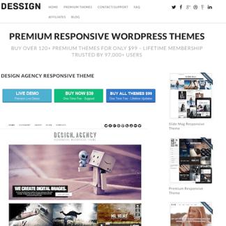 Dessign: Design Agency Responsive