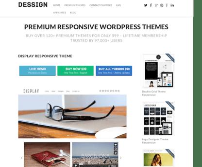 Dessign: Display Responsive