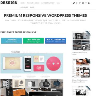 Dessign: Freelancer Responsive
