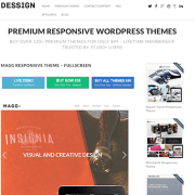 Dessign: Magg Responsive