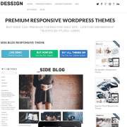 Dessign: Side Blog Responsive