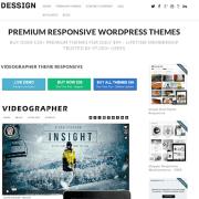 Dessign: Videographer Designer Responsive