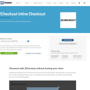 Extensión para WooCommerce: 2Checkout Inline Checkout
