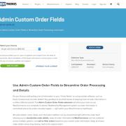 Extensión para WooCommerce: Admin Custom Order Fields