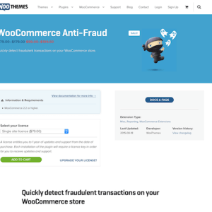 Extensión para WooCommerce: Anti Fraud