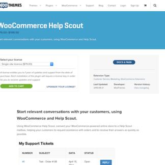 Extensión para WooCommerce: Help Scout