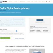 Extensión para WooCommerce: PayPal Digital Goods Gateway