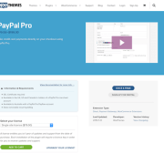 Extensión para WooCommerce: PayPal Pro Integration