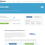 Extensión para WooCommerce: PayU India