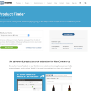Extensión para WooCommerce: Product Finder