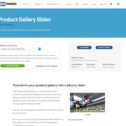 Extensión para WooCommerce: Product Gallery Slider