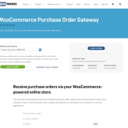 Extensión para WooCommerce: Purchase Order Gateway