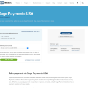 Extensión para WooCommerce: Sage Payments USA