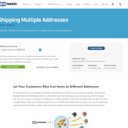Extensión para WooCommerce: Shipping Multiple Addresses