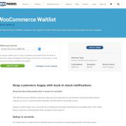 Extensión para WooCommerce: Waitlist