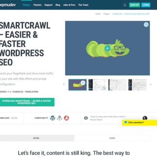 WPMU DEV: SmartCrawl WordPress Plugin