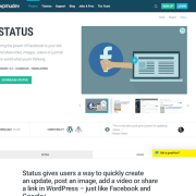 WPMU DEV: Status WordPress Plugin