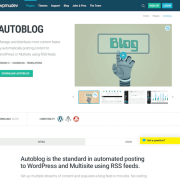 WPMU DEV: Autoblog WordPress Plugin WordPress Plugin
