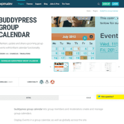 WPMU DEV: BuddyPress Group Calendar WordPress Plugin
