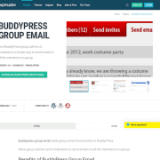 WPMU DEV: BuddyPress Group Email WordPress Plugin