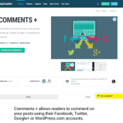 WPMU DEV: Comments plus WordPress Plugin