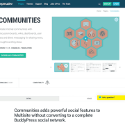WPMU DEV: Communities WordPress Plugin