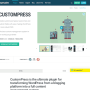 WPMU DEV: CustomPress WordPress Plugin