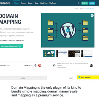 WPMU DEV: Domain Mapping WordPress Plugin