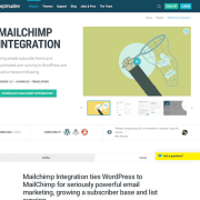 WPMU DEV: Mailchimp Integration WordPress Plugin