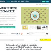 WPMU DEV: MarketPress eCommerce WordPress Plugin