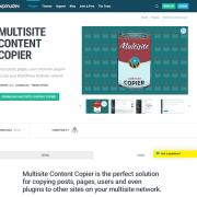 WPMU DEV: Multisite Content Copier WordPress Plugin