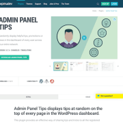 WPMU DEV: Admin Panel Tips WordPress Plugin