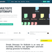 WPMU DEV: Multisite Sitemaps WordPress Plugin