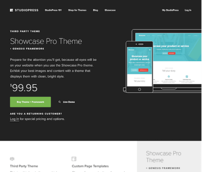 StudioPress: Showcase Pro Theme