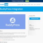 LearnDash LMS Add-On: BuddyPress Integration