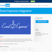 LearnDash LMS Add-On: Event Espresso Integration