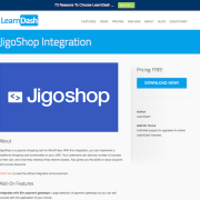 LearnDash LMS Add-On: JigoShop Integration