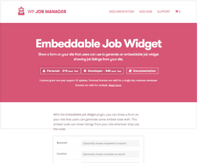 WP Job Manager Add-On: Field Editor