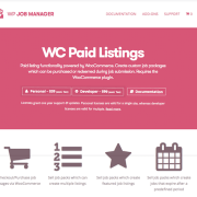 WP Job Manager Add-On: WC Paid Listings