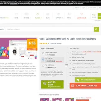 YITH WooCommerce: Share for Discounts