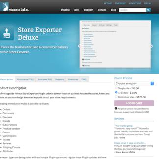 WooCommerce Store Exporter Deluxe