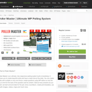 Codecanyon: Poller Master - Ultimate WP Polling System
